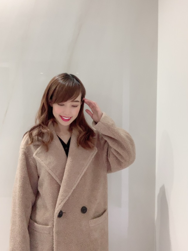 【selva secreta】Teddy bear BOA COAT(beige)