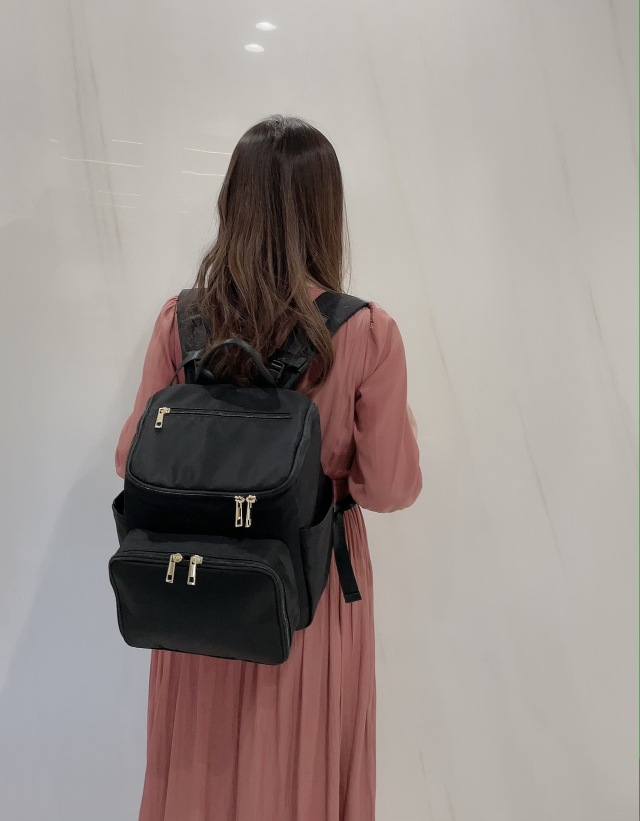 【selva secreta】bucket RUCKSACK mini(black×black logo)