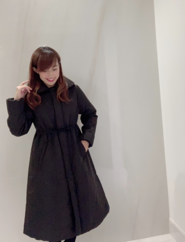 【selva secreta】FLARED  DOWN COAT(black)