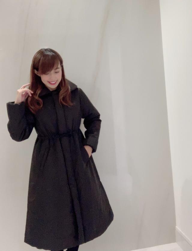 【selva secreta】FLARED  DOWN COAT(black)