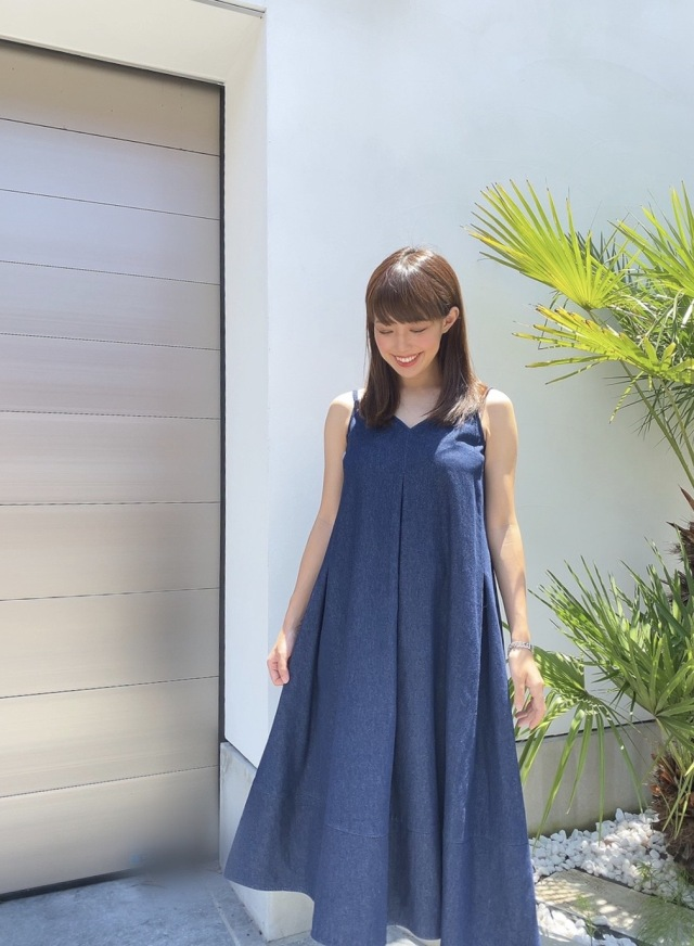 【selva secreta】TACK DRESS(denim)