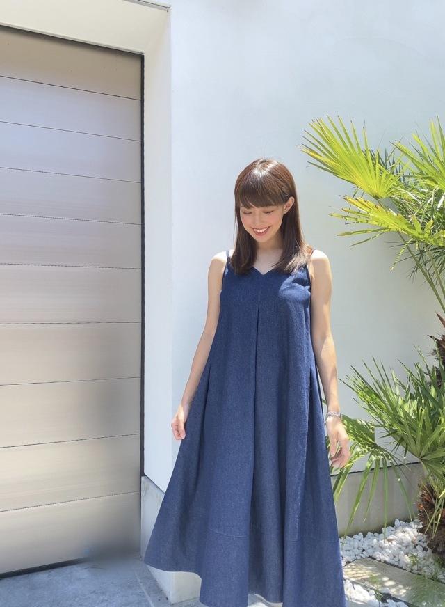 【selva secreta】TACK DRESS(denim)