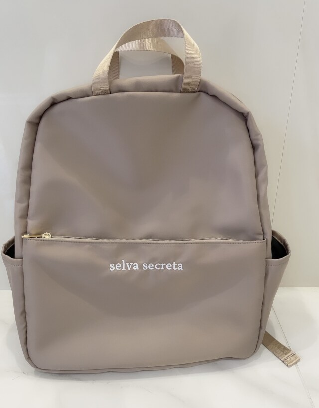 【selva secreta】RUCKSACK side pocket(greige)
