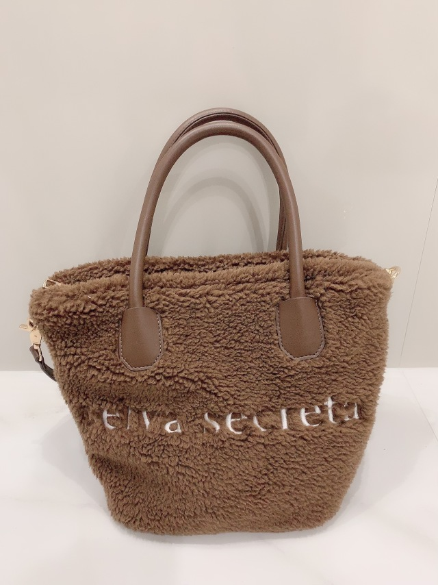 【selva secreta】Teddy bear TOTE BAG(brown)