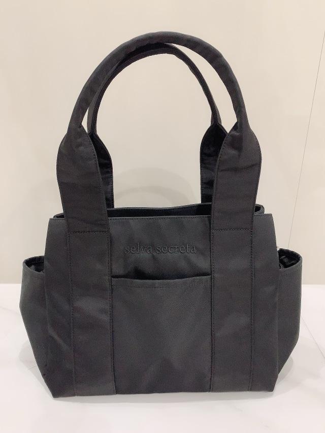 【selva secreta】3-layer TOTE BAG(black)