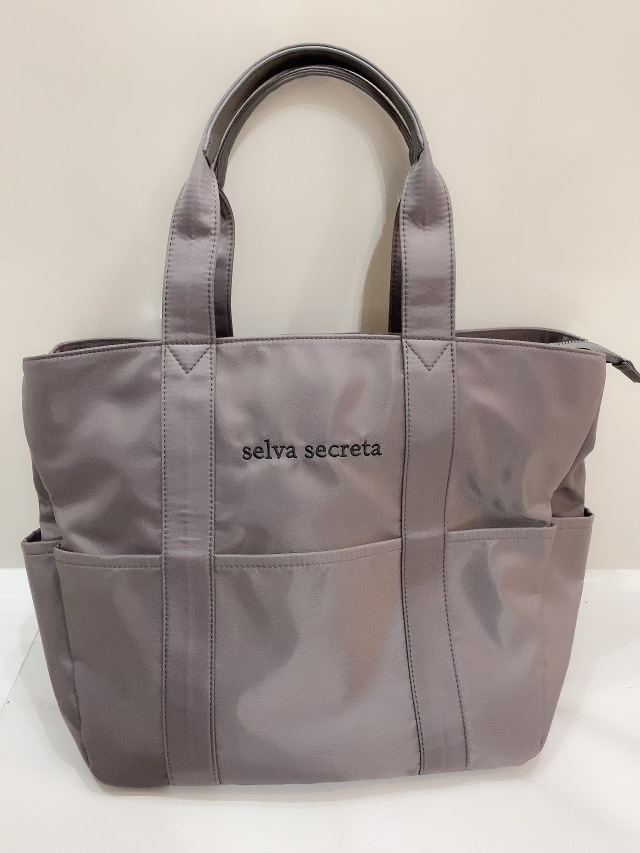 【selva secreta】useful TOTE BAG(gray)