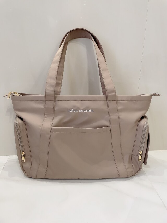 【selva secreta】MOM TOTE BAG(greige)