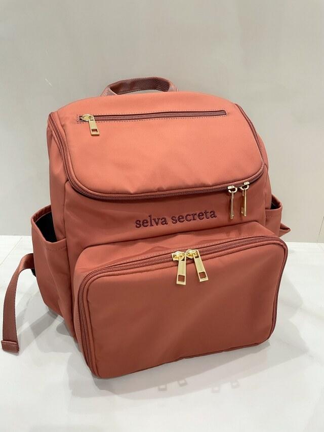 【selva secreta】bucket RUCKSACK mini(pink-brown)