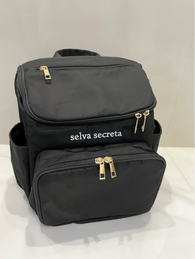 【selva secreta】bucket RUCKSACK mini(black)