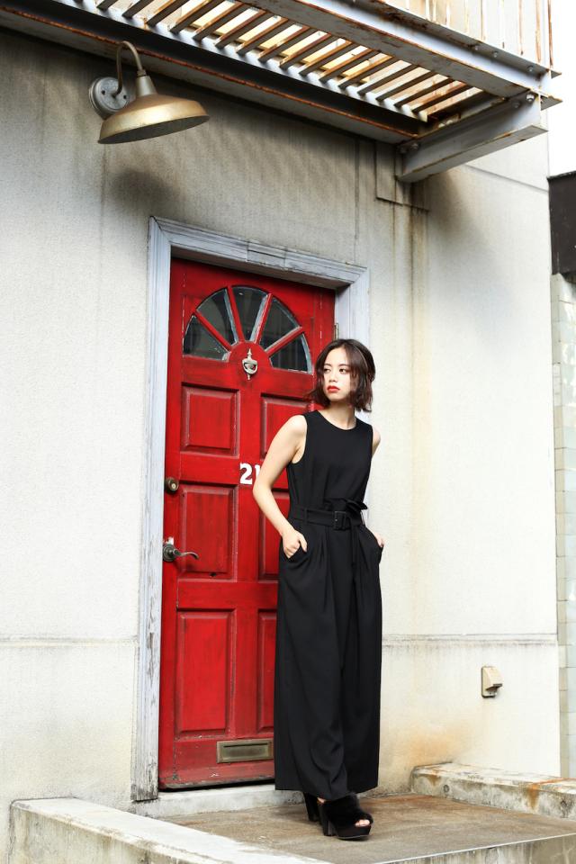 【selva secreta】ASYMMETRY ALL IN ONE (black)