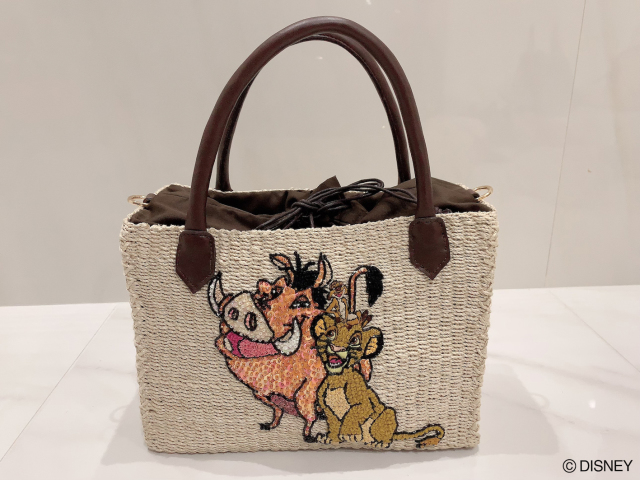 【selva secreta】Disney THE LION KING basket bag