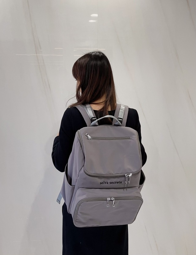 【selva secreta】bucket RUCKSACK(gray)