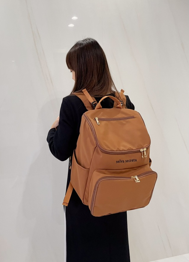 【selva secreta】bucket RUCKSACK(brown)