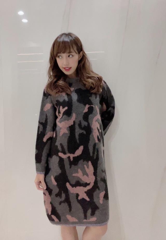 【selva secreta】CAMOFLAGE KNIT(pink)