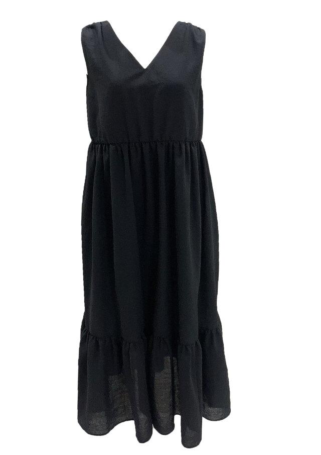 【selva secreta】Fluffy DRESS(black)
