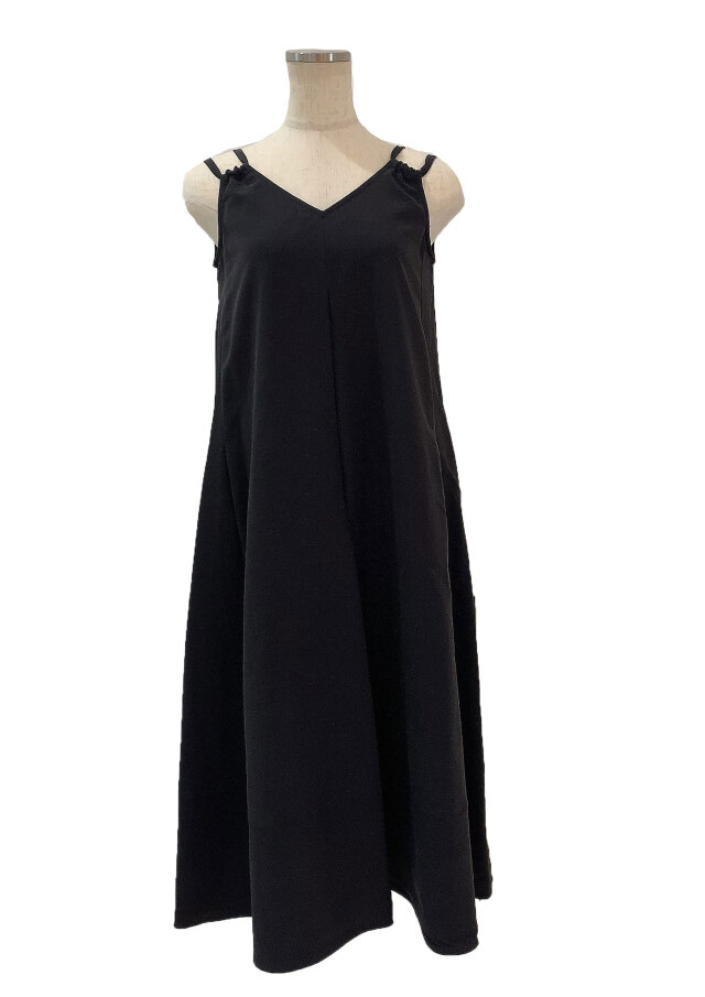 【selva secreta】TACK DRESS(black)