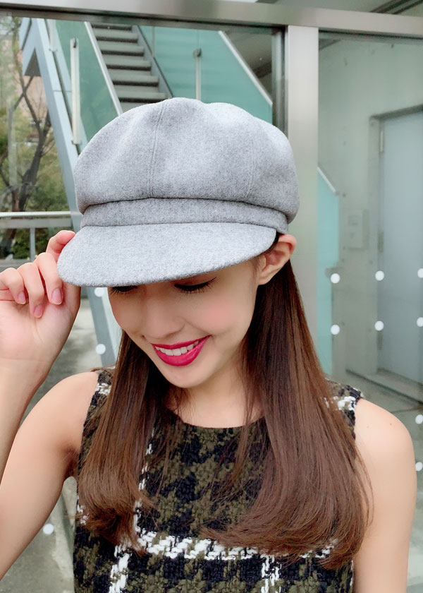 【selva secreta】WOOL CASQUETTE(gray)