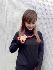 【selva secreta】ALPACA TURTLE KNIT(black-orange)