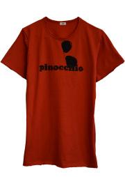 【AIR】PINOCCHIO T-SHIRT (RED-ORANGE)
