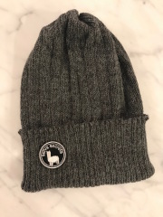 【selva secreta】ALPACA  KNIT CAP(gray)