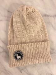 【selva secreta】ALPACA  KNIT CAP(white)