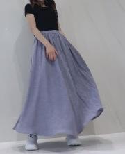【selva secreta】WAFFLE SKIRT (purple)