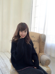 【selva secreta】MOHAIR KNIT(black)