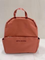 【selva secreta】RUCKSACK side pocket(pink-brown)