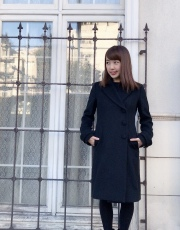 【selva secreta】WOOL LONG COAT(black)