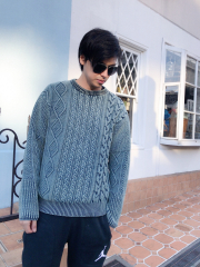【selva secreta】DENIM  KNIT(MENS)