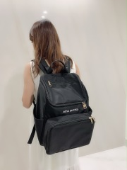 【selva secreta】bucket RUCKSACK(black)