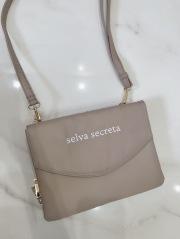 【selva secreta】3-layer Wallet BAG(greige)
