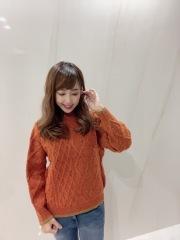 【selva secreta】WOOL KNIT(orange)