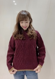 【selva secreta】WOOL KNIT(red)