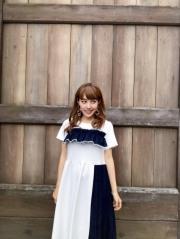 【selva secreta】POINTE DENIM DRESS (white)