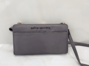【selva secreta】Wallet BAG(gray×gold)