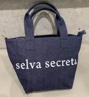 【selva secreta】LOGO TOTE BAG(denim)