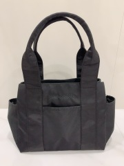 【selva secreta】3-layer TOTE BAG(black)