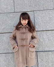 【selva secreta】DUFFLE  Teddy Bear COAT (beige)
