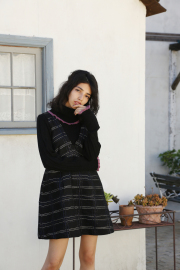 【selva secreta】TURTLE KNIT(black)