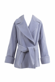 【selva secreta】SHORT COAT(blue)