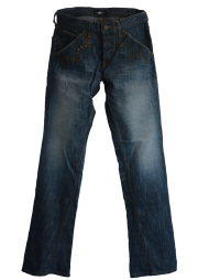 【ANTIMINSS】 CROWN STITCH DENIM (blue)