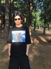 【予約販売】【ANTIMINSS】LASVEGAS PRAM Tshirt(black)