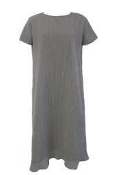 【selva secreta】A line DRESS(short-sleeve-gray)