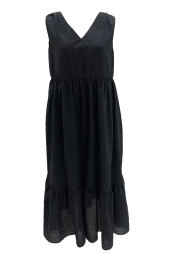 【selva secreta】Fluffy DRESS(black)