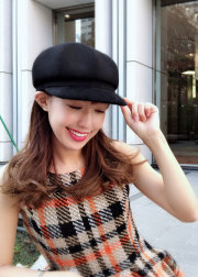 【selva secreta】WOOL CASQUETTE(black)