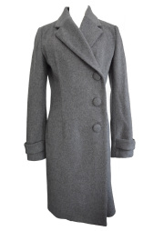 【selva secreta】WOOL LONG COAT(gray)