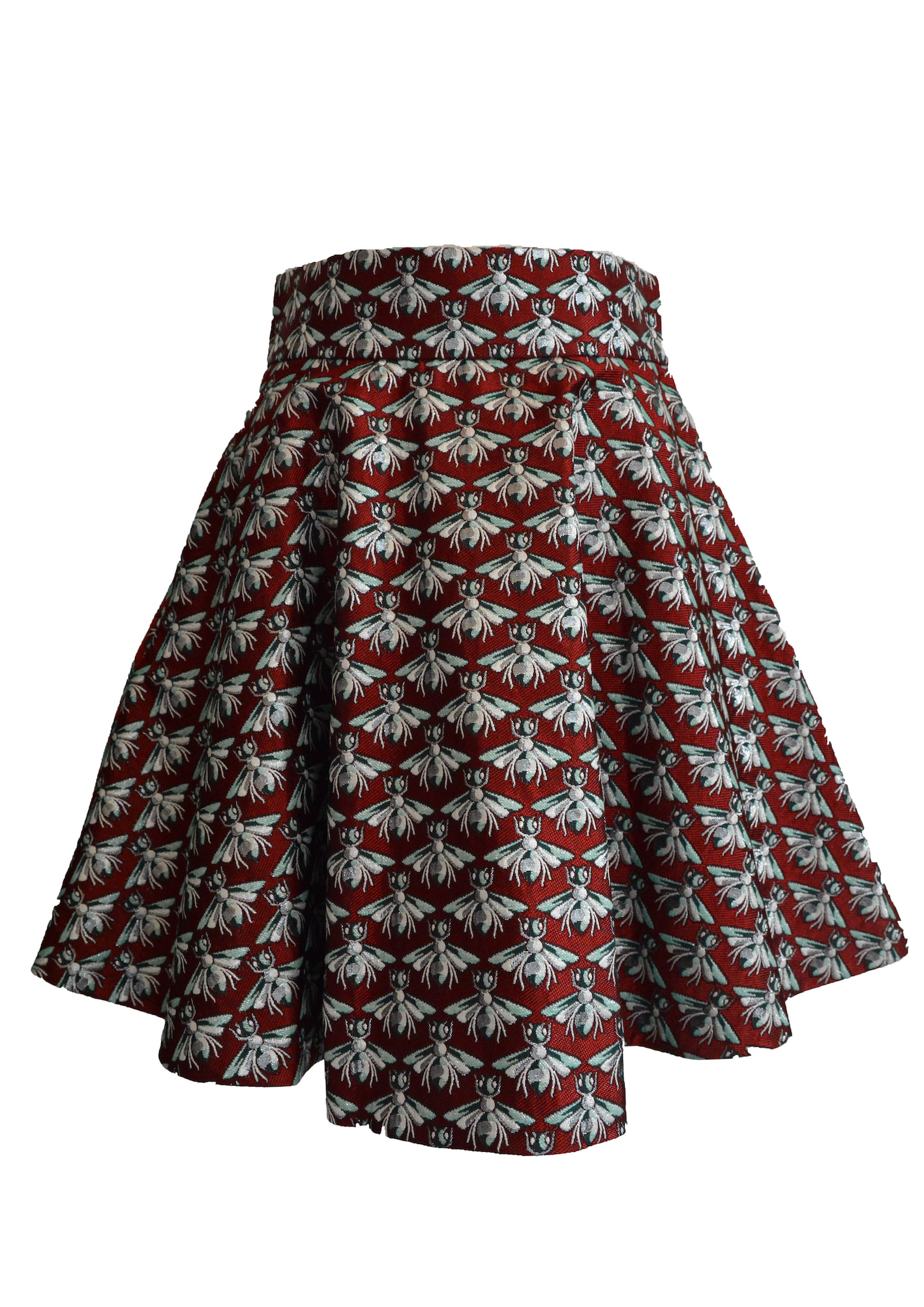 【selva secreta】HONEY BEE SKIRT(red)