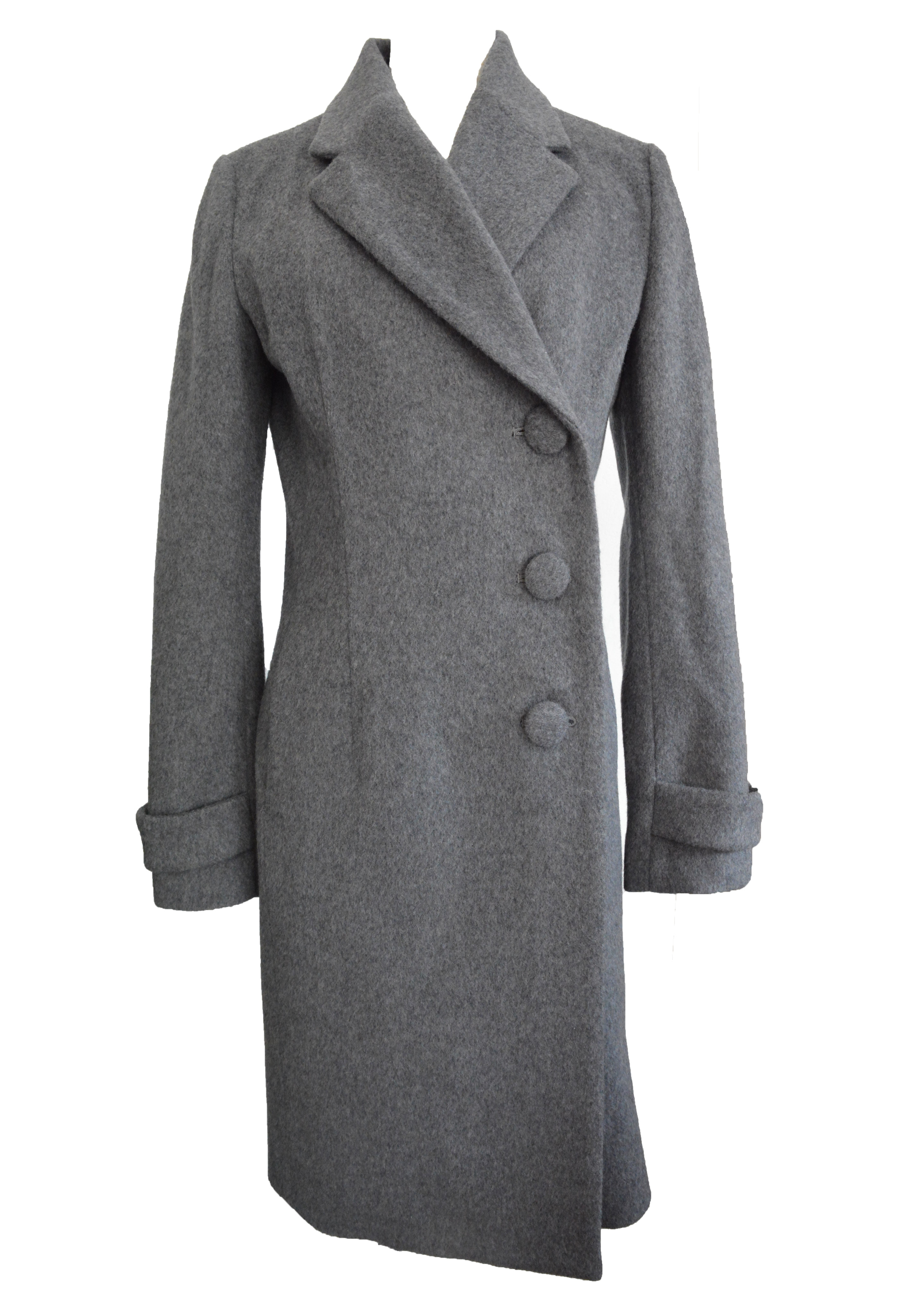 【selva secreta】WOOL LONG COAT(gray)