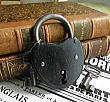 CL7661 フランス・アンティークパドロック・鍵